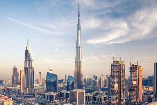 Burj Khalifa - Tallest building in the world